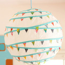 Cómo hacer lámparas de papel para dormitorios infantiles