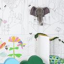 Papeles pintados para niños artistas