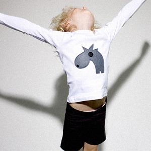 Camisetas para niños con apliques de fieltro ideales en Plush!