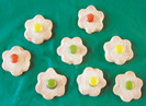 Galletas de mantequilla de flores