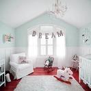 Decorar el azul aguamarina. Ideas para dormitorios infantiles.