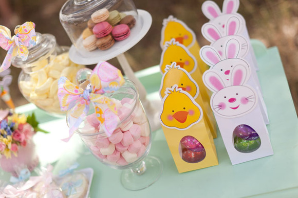 Chocolatinas para una fiesta de Semana Santa