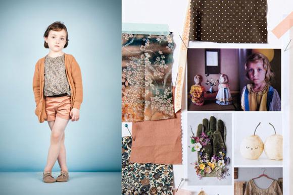 Caramel Baby and Child, moda romántica para niños
