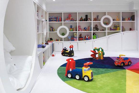 Ideas para decorar un cuarto de juegos para niños