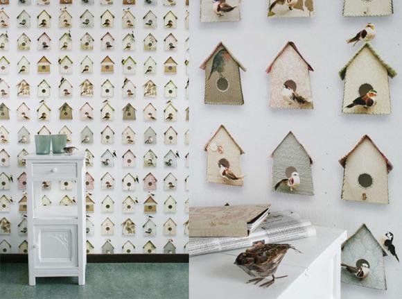 papeles pintados con mucho encanto en the collection muebles y