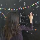 Ideas para decorar una Pizarra: Guirnaldas