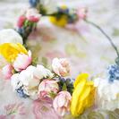 Corona de flores casera para regalar a mamá