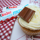 Cupcakes de chocolate Kinder