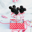 Piruletas de Mickey Mouse de chocolate