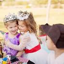 Fiesta de cumpleaños de princesas y piratas