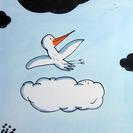 Piccolo y Nuvola y La ola