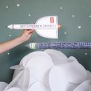 Manualidades en Cartón para niños: Cohetes ciberespaciales
