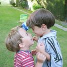Juegos para niños al aire libre: gymkhana de equipos