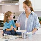 Niños más sanos si quien cocina es mamá