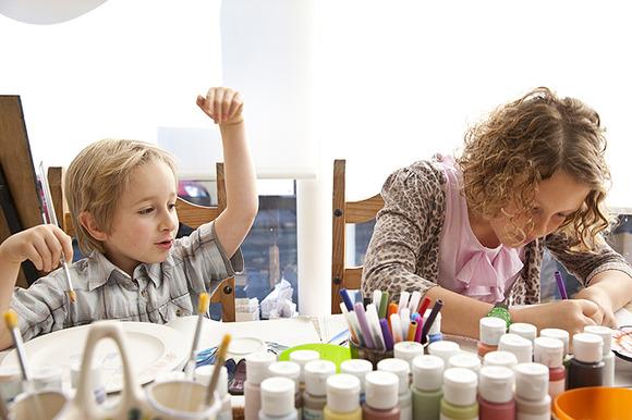 Beneficios de las manualidades para los niños