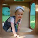 Túneles de cartón para jugar con niños