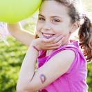 Tatuajes temporales para niños en Fun Choices