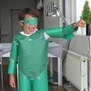 Disfraz casero de Linterna Verde