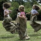 Juegos de carreras de sacos infantiles