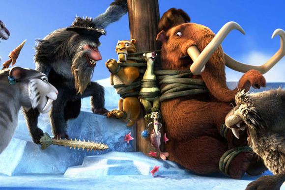 Estreno de cine &quot;Ice Age 4: La formacin de los continentes&quot;