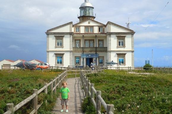 Excursión con niños al Faro de Cabo Peñas