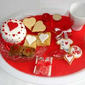 Dia de San Valentín. Regalos originales: Un desayuno para enamorar... Sweet&Brownies. Madrid