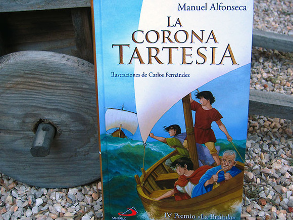 Libro juvenil histórico y de aventuras