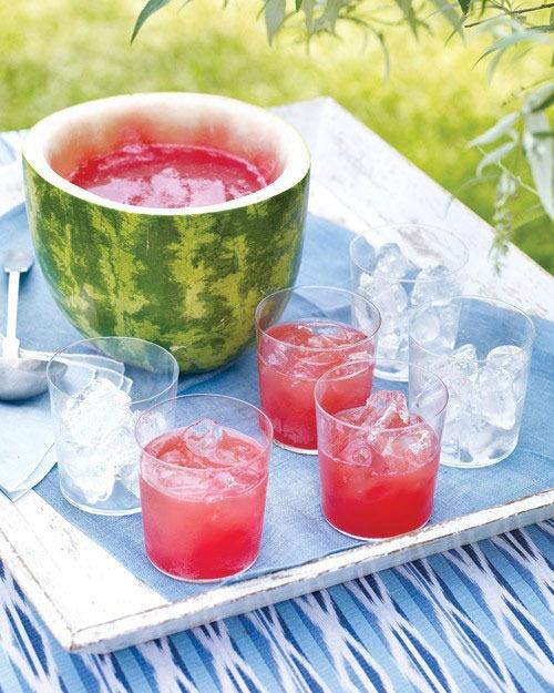 Bebidas de frutas para el verano