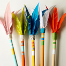 Flechas indias para fiestas temáticas o disfraces caseros