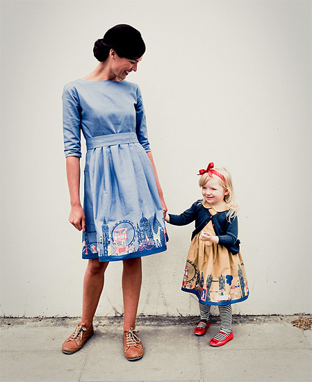 Vestidos para madres e hijas de Poppy