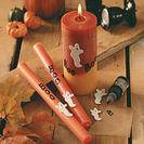 Fantasmales velas caseras para iluminar la fiesta de Halloween