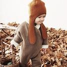 Moda para bebé muy calentita de Macarons