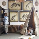 Decoración de dormitorios para pequeños exploradores