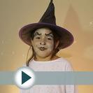 Maquillaje de bruja para niñas