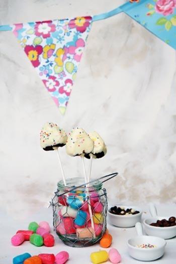 Receta de cake pops de nocilla