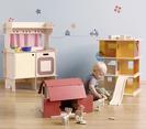 Juguetes y cocinitas minimalistas para niños en Momoll