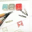 Taller de carvado de sellos y envolver regalos