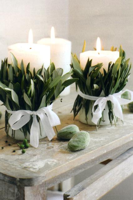Decorar con velas la Navidad un toque de calidez en el hogar