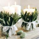 Decorar con velas la Navidad... un toque de calidez en el hogar