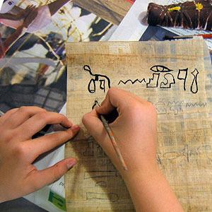 Talleres para niños sobre Egipto y sus Faraones. Museu Egipci de Barcelona