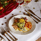 Cómo organizar la mesa para las comidas y cenas navideñas