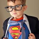 Disfraz casero de Super Man para niños
