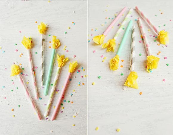 Manualidades Decoracion Velas ~ Velas de papel para decorar los cupcakes  Manualidades para Fiestas y