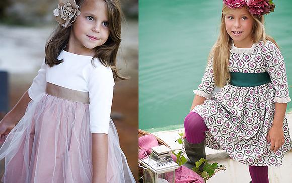 Vestidos de fiesta para niñas de teresa & leticia