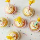 Velas de papel para decorar los cupcakes