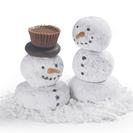 Muñecos de nieve de donut