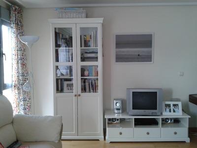 Mueble tv libreria liatorp blanco madrid 280 venta de - Muebles ikea barcelona ...