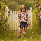 Noa Noa Miniature: Vestidos para niñas de corte bohemio