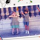 Moda para niños y niñas con toque retro