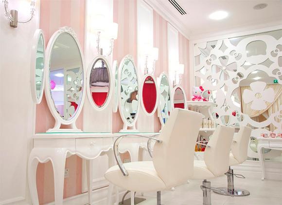 Decoracion De Salones De Belleza Y Spa ~ Centro de belleza y spa de Hello Kitty en Dubai  Parques y Viajes